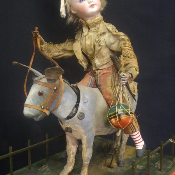 Boy on a Donkey - 7